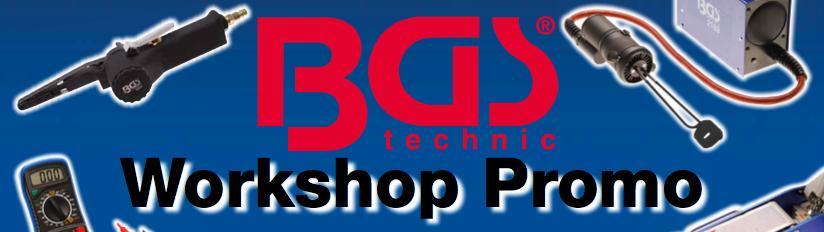 Narzędzia BGS w promocyjnych cenach w 2016 roku